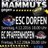 EA Schongau erwartet Tabellennachbar Pfaffenhofen und reist zum Spitzenreiter!