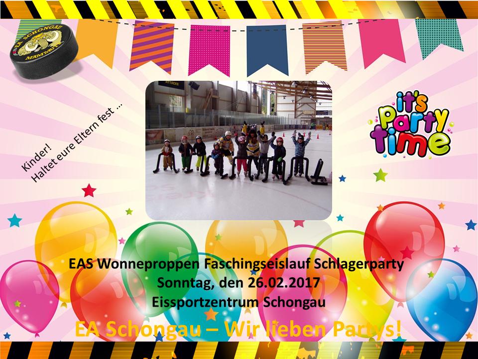 EAS Faschingseislaufschule