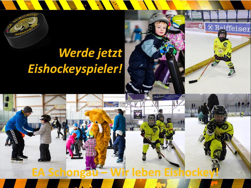 EAS Homepage Werde jetzt Eishockeyspieler