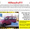 Spendenaufruf: EAS Teambus