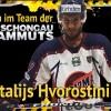 Vitalijs Hvorostinins stürmt für die Mammuts