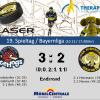 Knappe 3:2 Niederlage in Pfaffenhofen