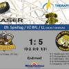 Mammuts besiegen Wanderers mit 1:5