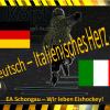 Deutsch – Italienisches Herz …
