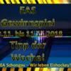 EAS Gewinnspiel – Tipp der Woche KW45 Auflösung …