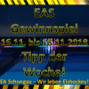 EAS Gewinnspiel – Tipp der Woche KW46 …