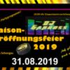 Partyprogramm zur Saisoneröffnungsfeier 2019 …